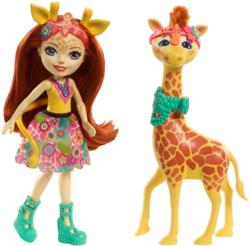 Enchantimals Gillian Giraffe and Pawl